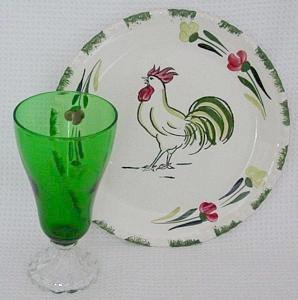 Other cock o the walk dinnerware what