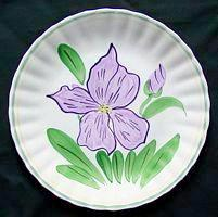  Blue Ridge SPI Southern Potteries  reference pic for lavender iris 90360